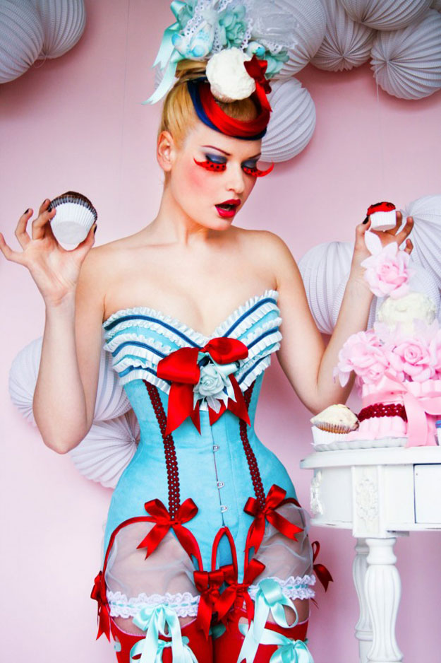 June Corset of the Month from Maya Hansen's Cupcake Collection